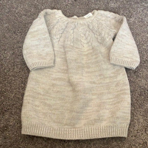 0-3 Month Old Navy Sweater Dress